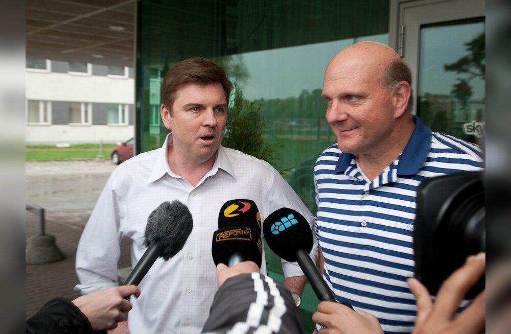 FOTOD: Microsofti juhile jättis Skype'i Tallinna tiim hea mulje