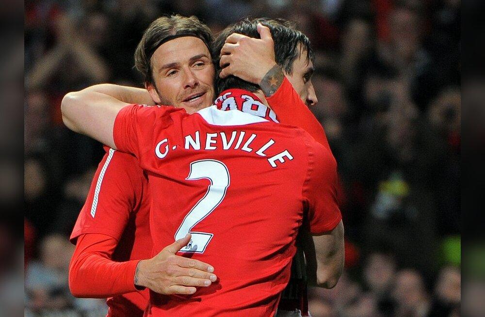 David Beckham ja Gary Neville
