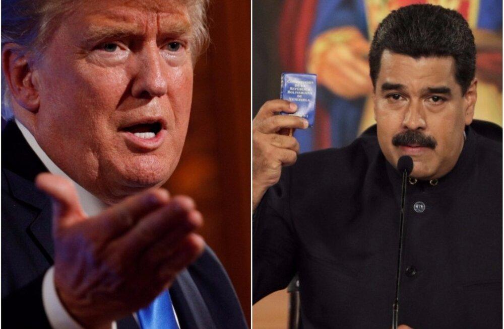 Donald Trump ja Nicolás Maduro