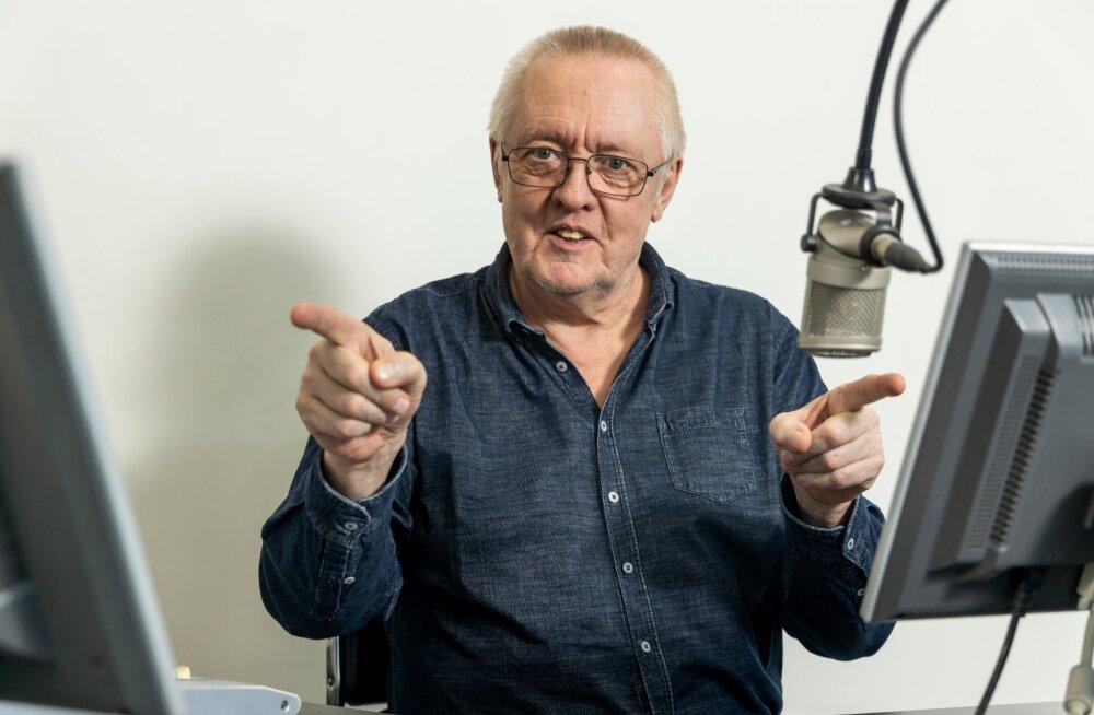 """RAADIOS Nõmme Raadiot, """"radikaalseimat raadiot Eestis"""", on Margus Lepa vedanud 1990. aastate lõpust."""