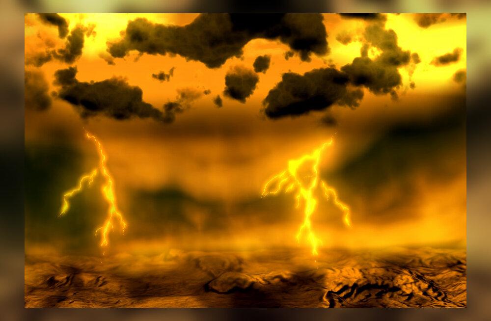 Veenuse tugevad tuuled muutuvad üha tugevamaks