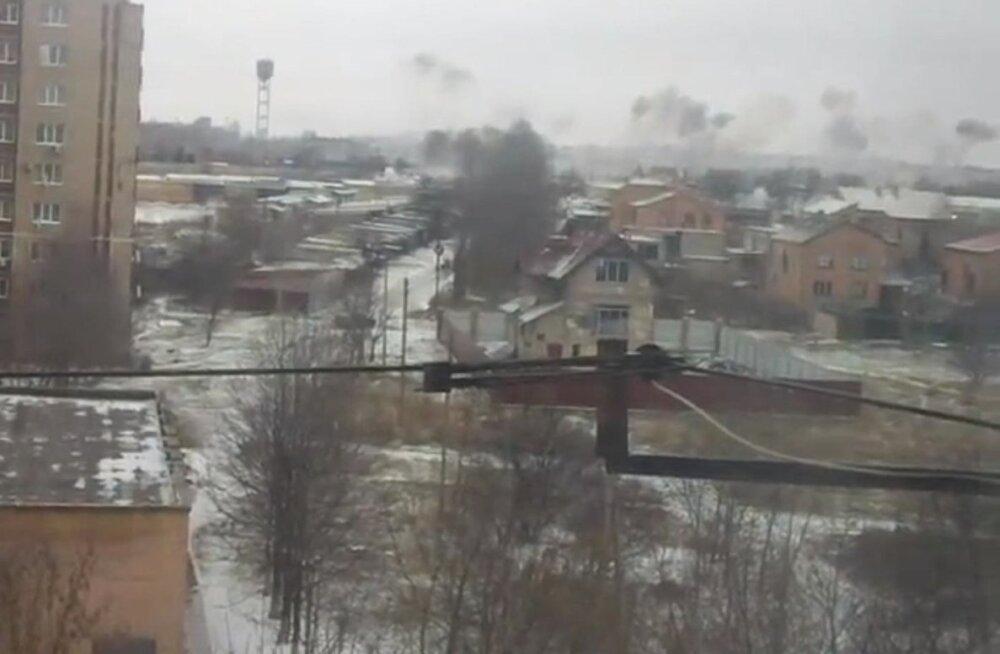 VIDEOD ja FOTOD: Raketiheitjatest Tornado tulistati Kramatorskit, hukkus 15 inimest