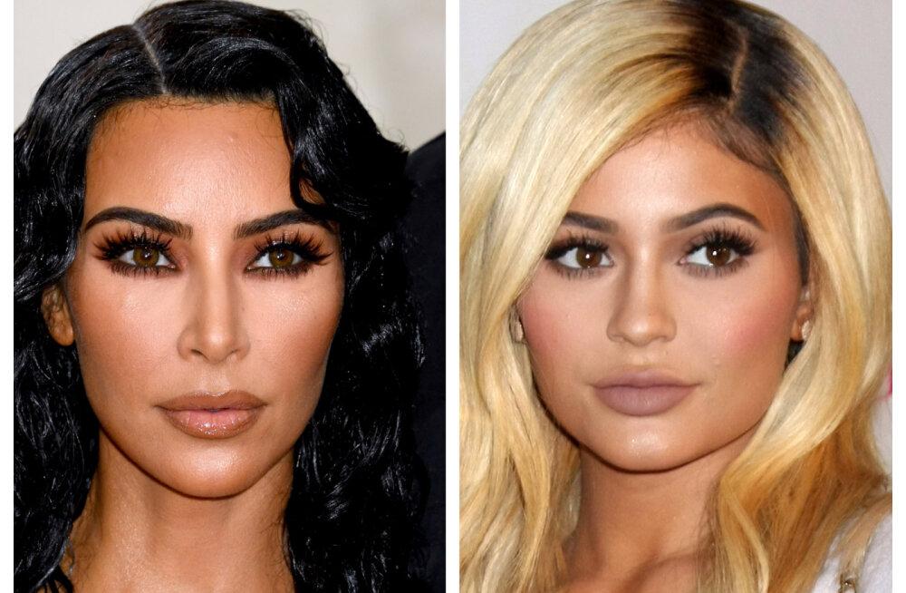 VIDEO | Polnud mõeldud võõrastele silmadele! Sotsiaalmeediasse lekkinud muusikavideost viskavad Kim Kardashian ja Kylie Jenner riided seljast