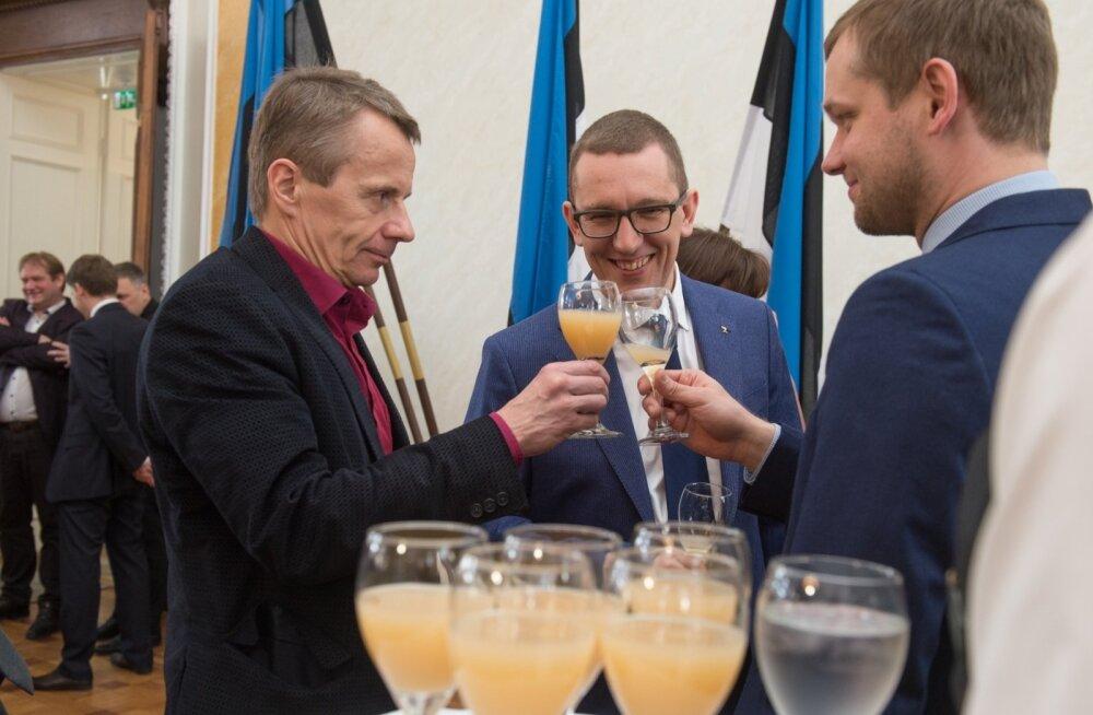 Jürgen Ligi, Kristen Michal, Remo Holsmer