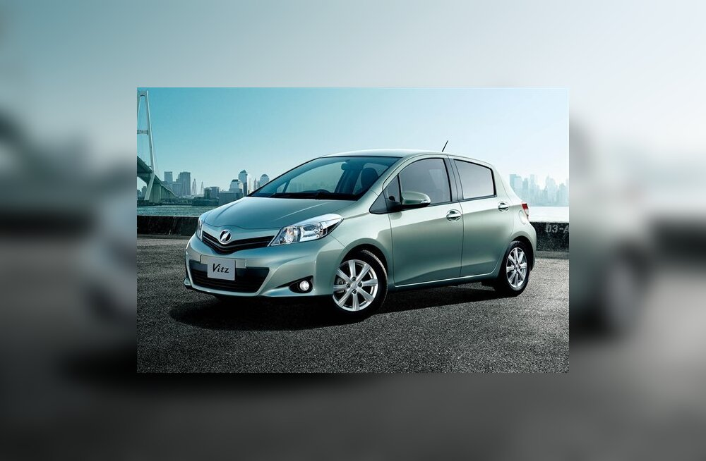 Jaapanis kannab Yaris nime Toyota Vitz