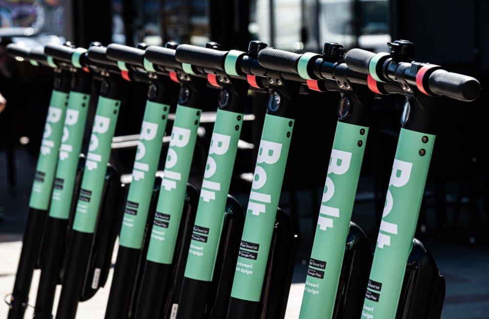 Bolti elektritõukerattad lähevad talveunne: innukaim kasutaja tegi kokku 202 sõitu