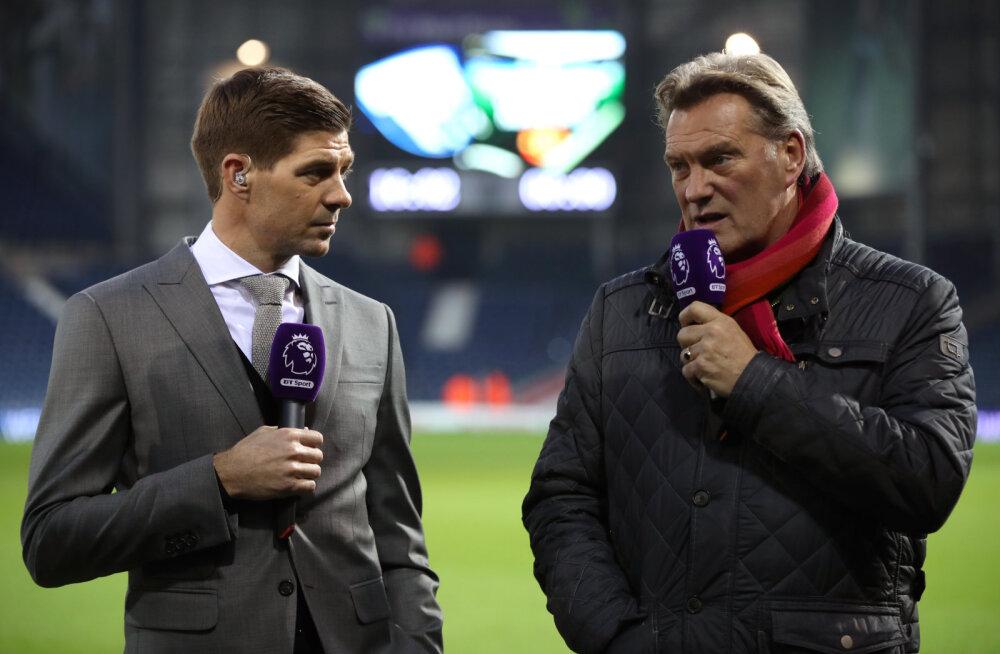 Steven Gerrard ja Glenn Hoddle
