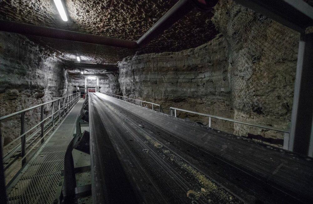Estonia kaevandus koondab tootmise ühte tiiba
