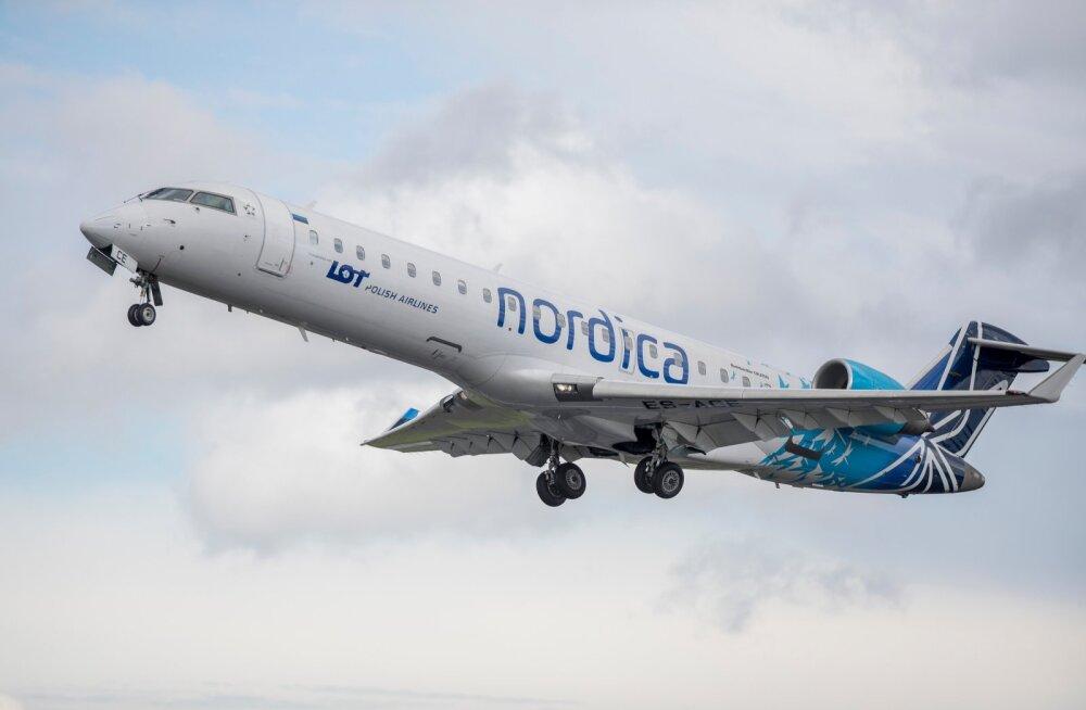 Почему так важно спасти Nordica и предоставить ей 30 млн евро государственной помощи, несмотря на отсутствие рейсов из Таллинна