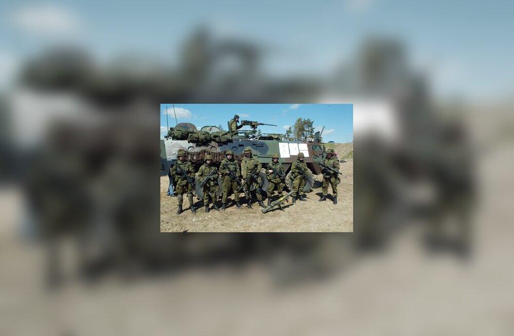 Kaitsevägi, sõjavägi, sõdur