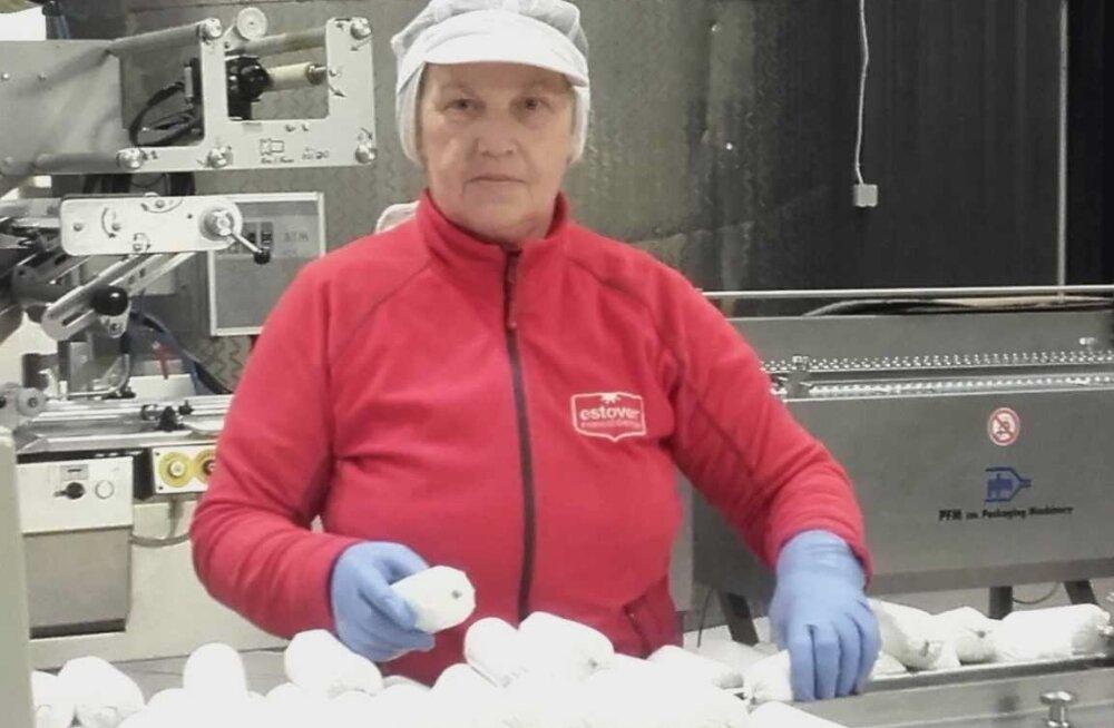 Osalise töövõimega Kodu Lääts asus Estover Piimatööstuse OÜ Kaarlijärve Meiereis tööle juba 2006. aastal.