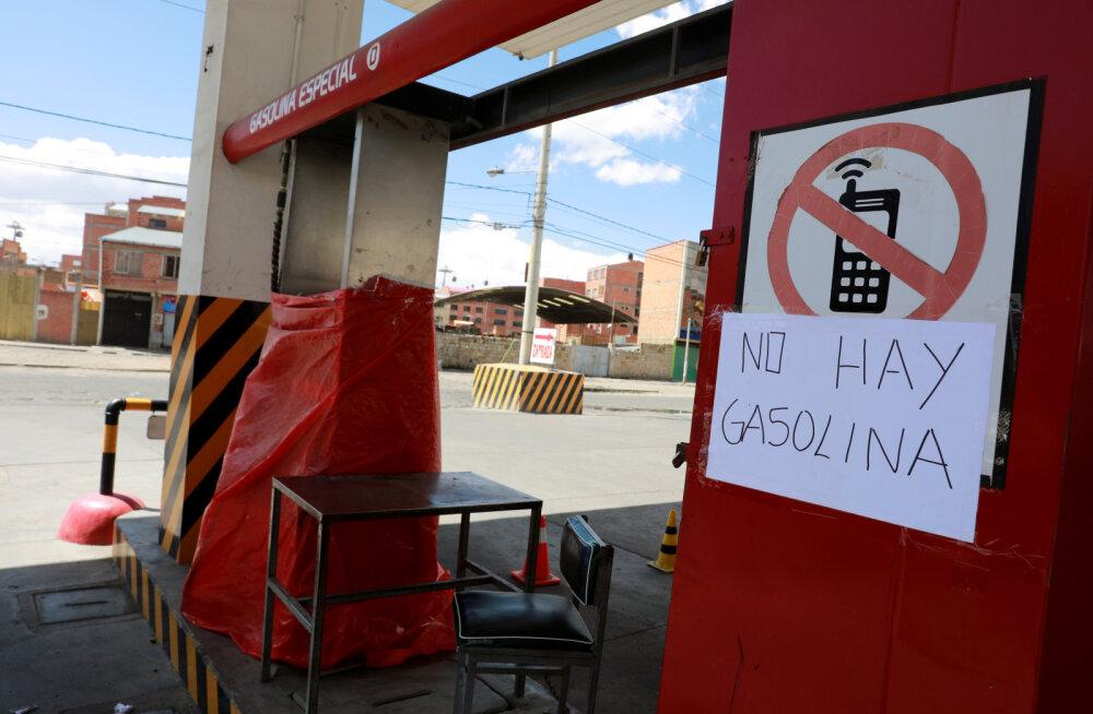 Boliivias on tekkinud toidu- ja kütusepuudus ning kasvab hukkunute arv