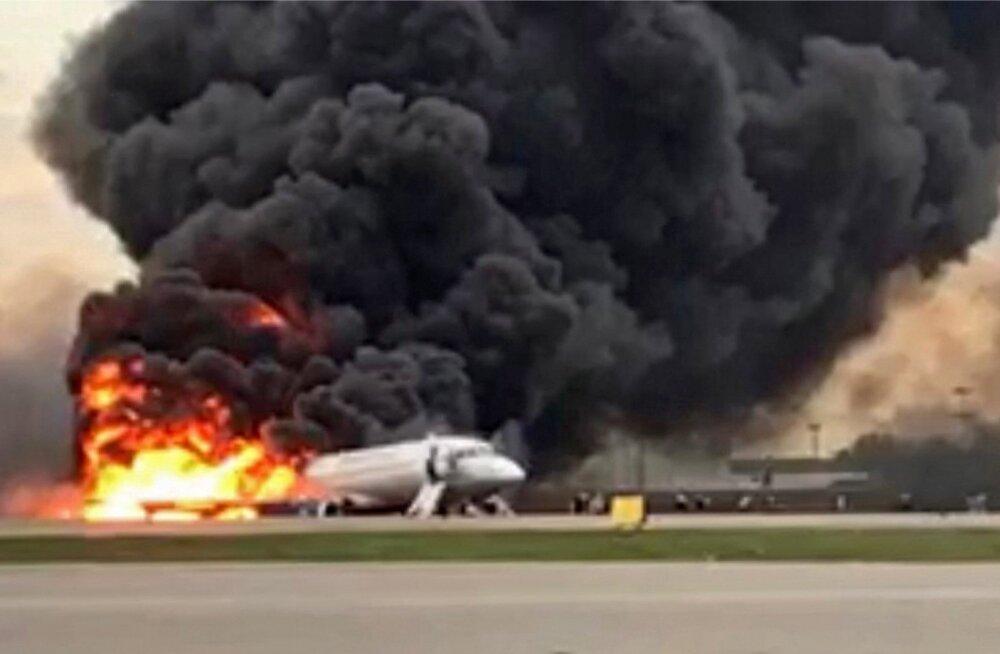 Lennuõnnetus Moskvas