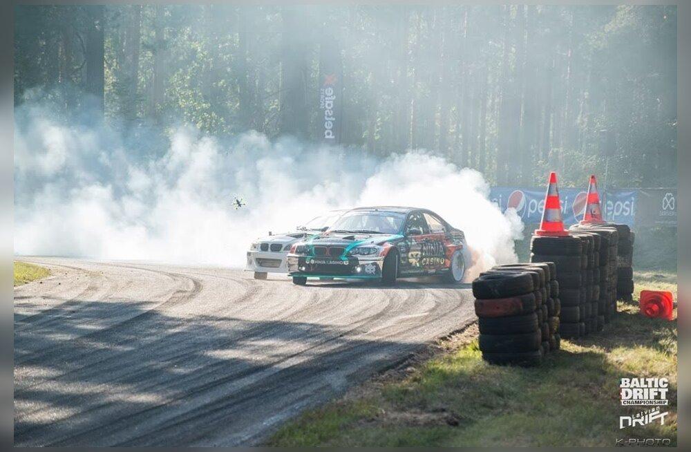 Põhja-Euroopa drifti meistrivõistluste kaksikvõit tuli Eestisse