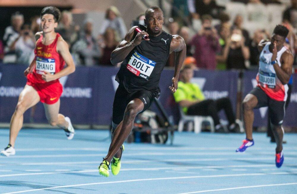 Usain Bolt võitis viimase 100m jooksu kodumaal