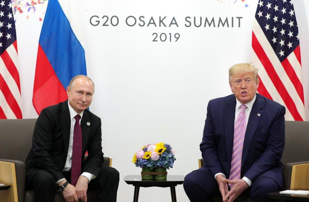 Trump kohtus Putiniga: me saame omavahel äärmiselt hästi läbi