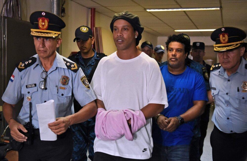 Dokumente võltsinud Ronaldinho saab peagi taas vabadusse