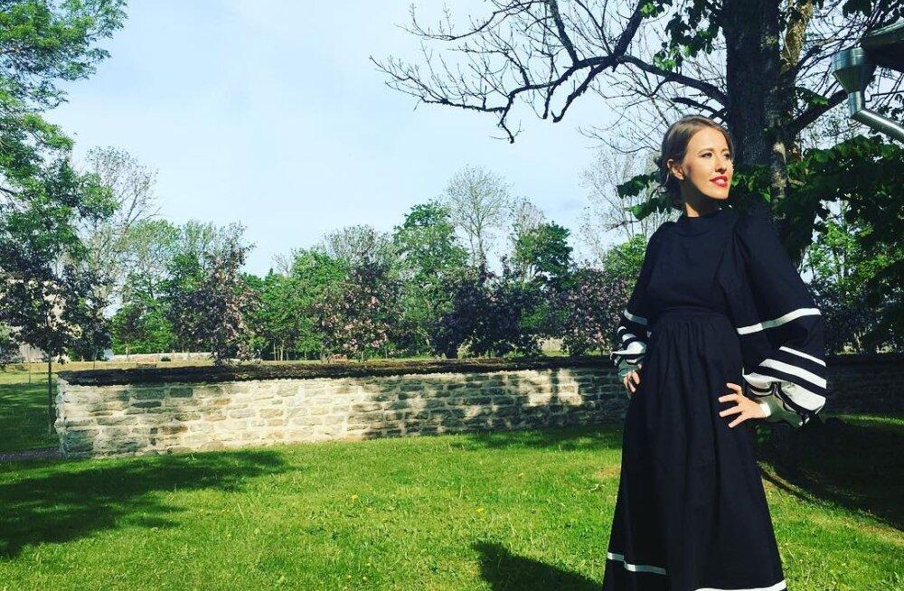 FOTO: Palju õnne! Oleg Ossinovski juubelit väisanud Venemaa meediastaar Ksenia Sobtšak sai emaks