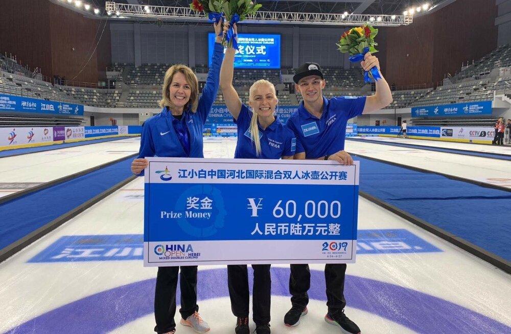 Marie Turmannil ja Harri Lillel oli Hiinas põhjust rõõmustamiseks.