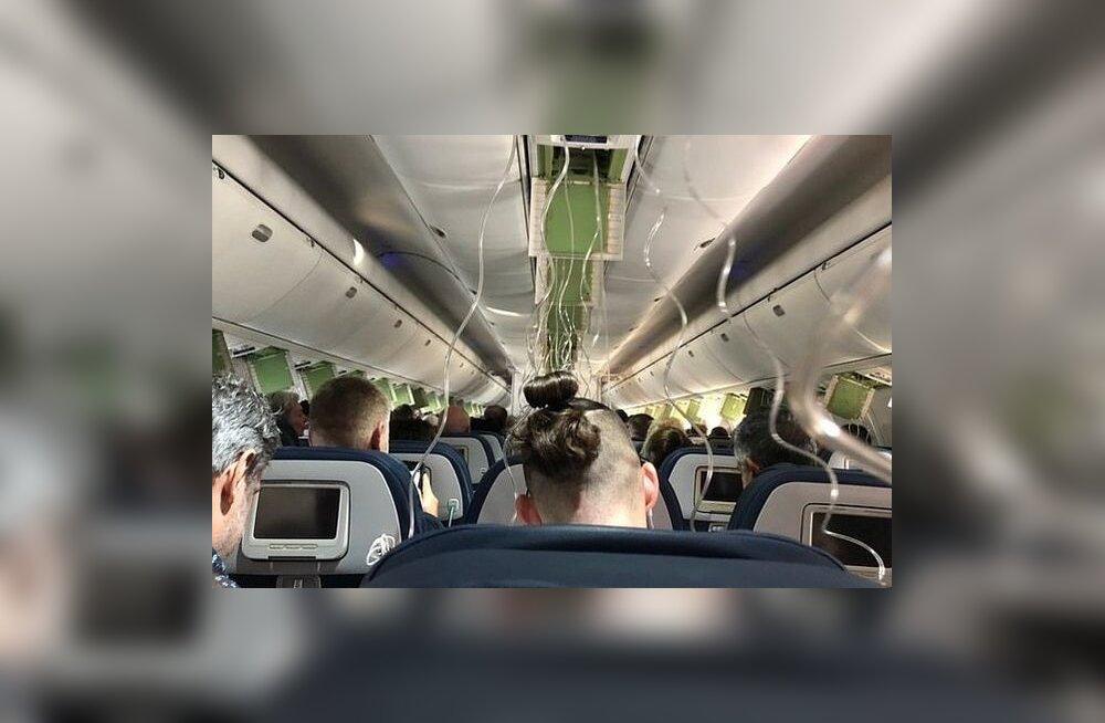 VIDEO | Kohutav! Reisijad saatsid lähedastele hüvastijätusõnumeid, kui lennuk kiiresti kõrgust kaotas