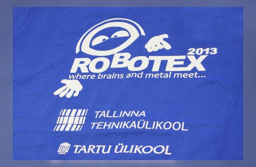 ФОТО читателя Delfi: В Таллиннском техническом университете - соревнования роботов Robotex 2013