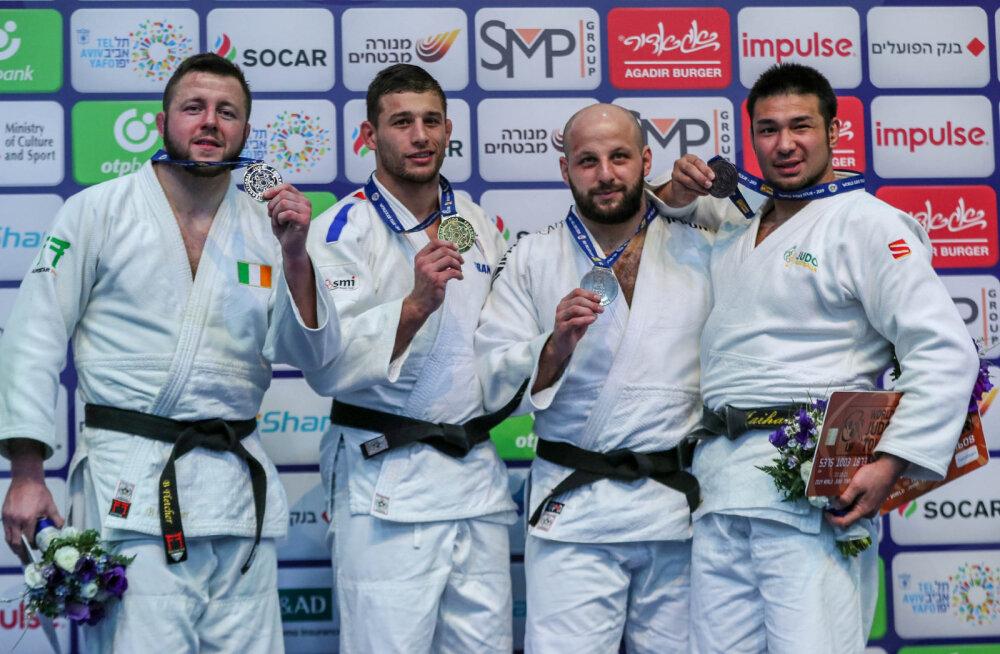Ajalugu teinud Grigori Minaškin teenis judo GP-l pronksmedali, Kaljulaid viies