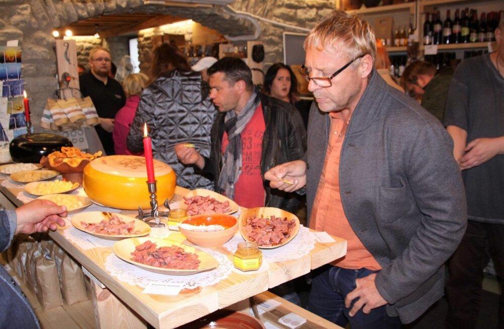 Mahlaveski Talupood Tallinnas koostöös Olde Hansa peakoka Emmanuel Willega kutsus degusteerima eestimaist talutoitu ja sellest tehtud hõrke suupisteid.