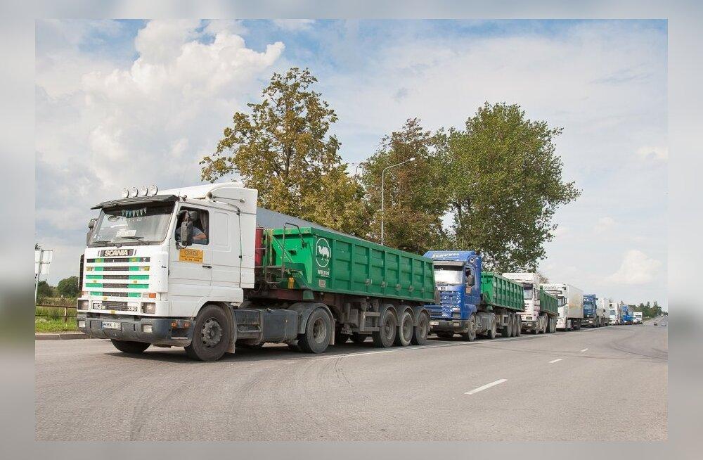 Raskeveokite maks tuleb 2018. aastast, rekkad hakkavad tasuma 10-12 eurot päevas