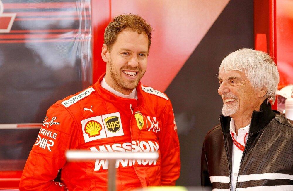 Bernie Ecclestone nimetas läbi aegade parima F1 piloodi