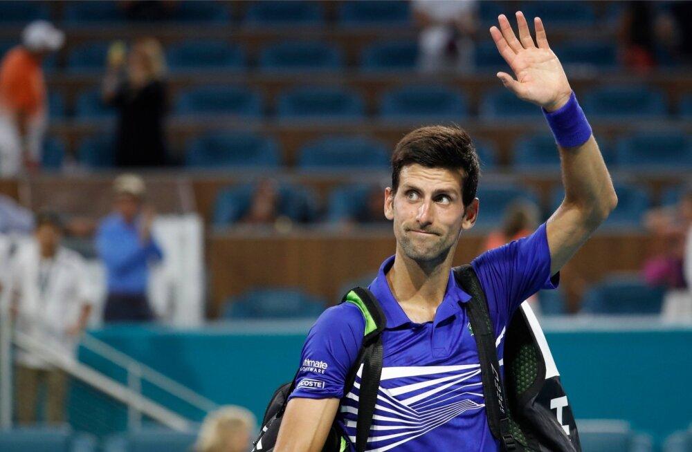 Novak Djokovici jaoks sai Miami turniir läbi neljandas ringis.