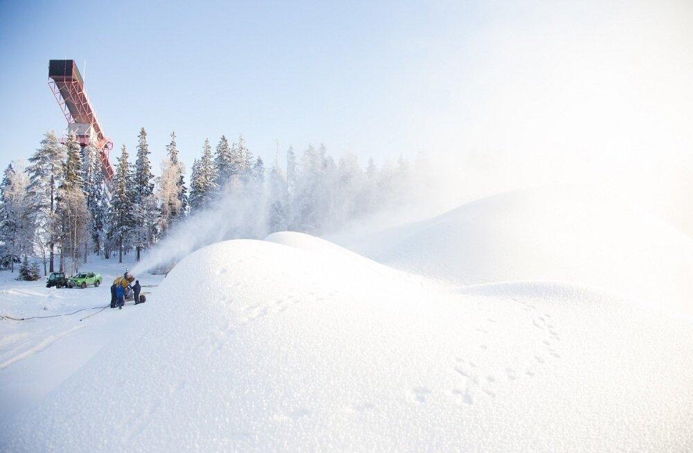 Lumetootmine Tehvandil
