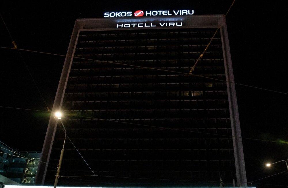 Pimedad hotellid Tallinnas 24.03.2020