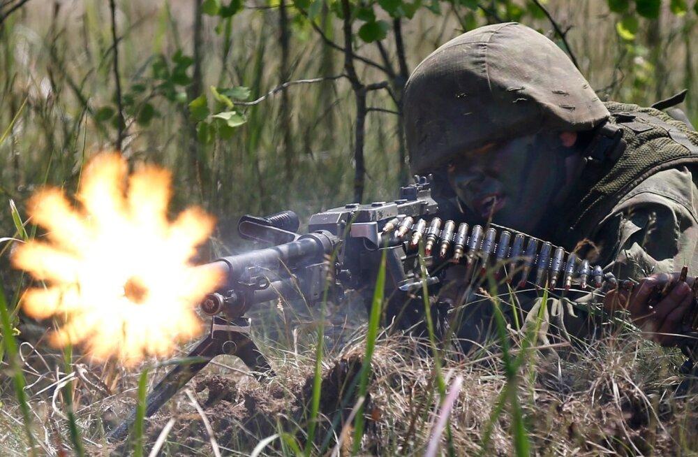 NATO õppus, pilt on illustratiivne