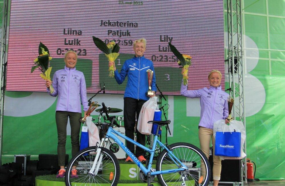 VIDEO: SEB Maijooksu võitis teist aastat järjest Jekaterina Patjuk