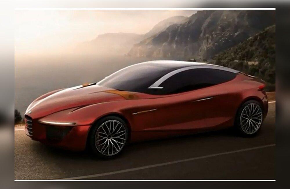 Alfa Romeo näitab Genfis sedaani Gloria