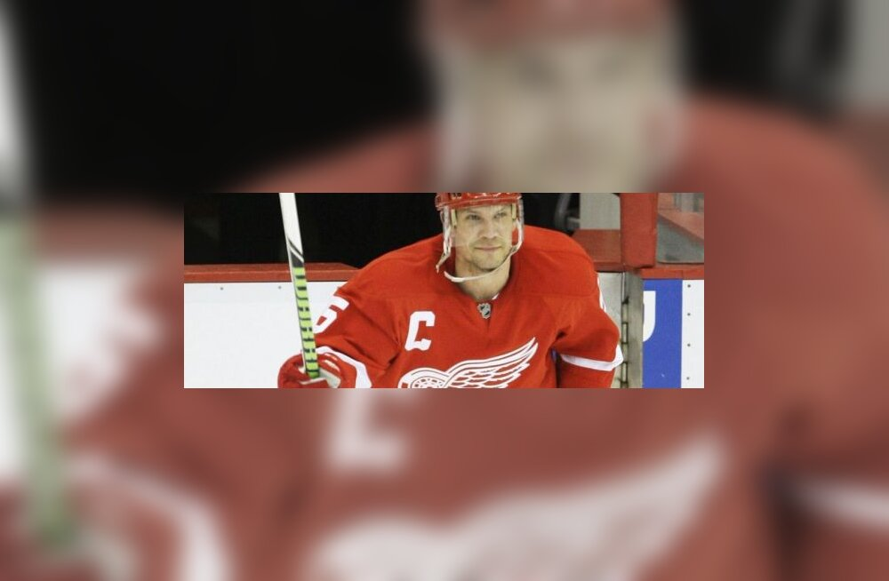 Detroit Red Wingsi kaitsja Nicklas Lidström