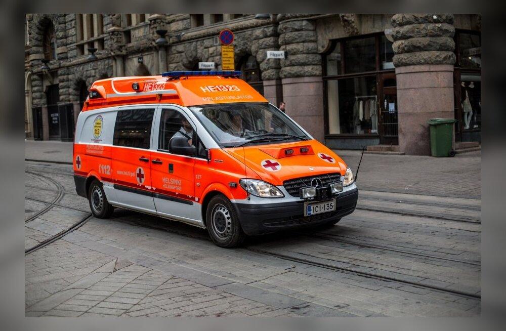 Soome parameedikud ja tuletõrjujad saavad kuulikindlad kiivrid ja vestid