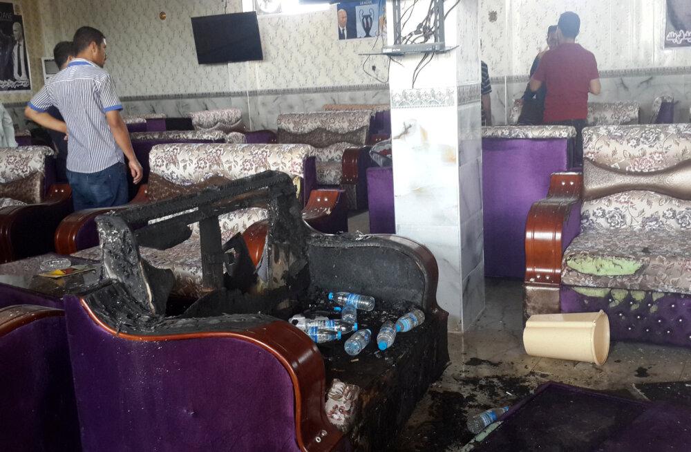 Terroristid ründasid Iraagis Madridi Reali fännide kohvikut, 16 inimest hukkus
