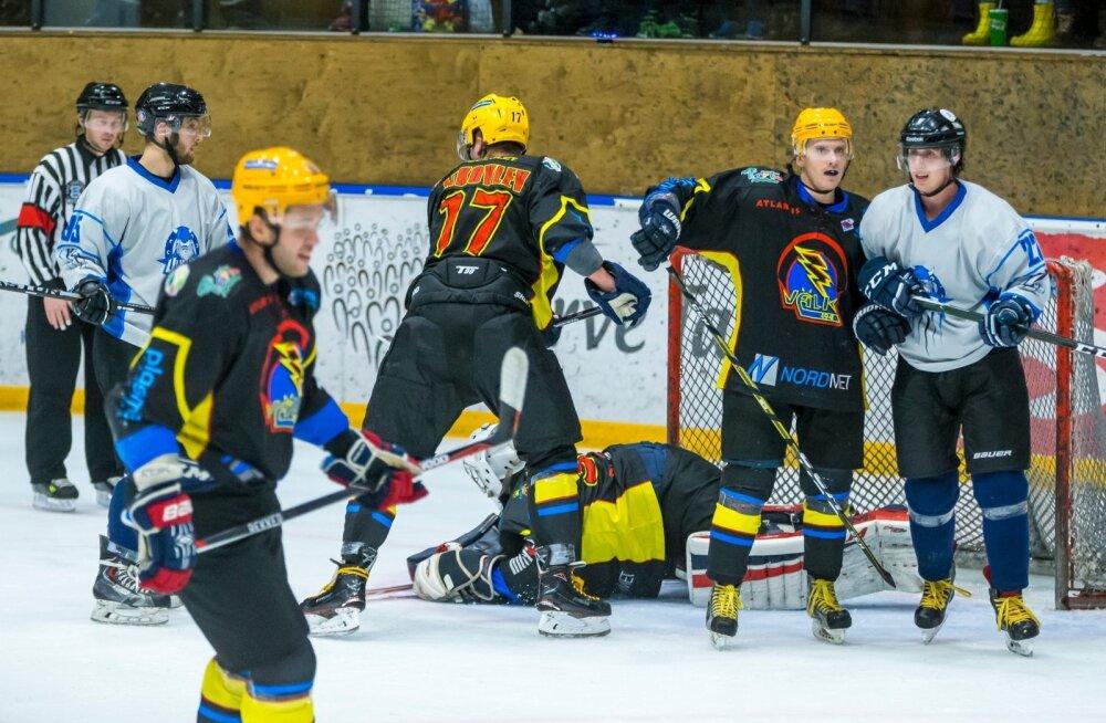 Jäähoki EMV, Välk (Tartu) vs Viking (Tallinn)