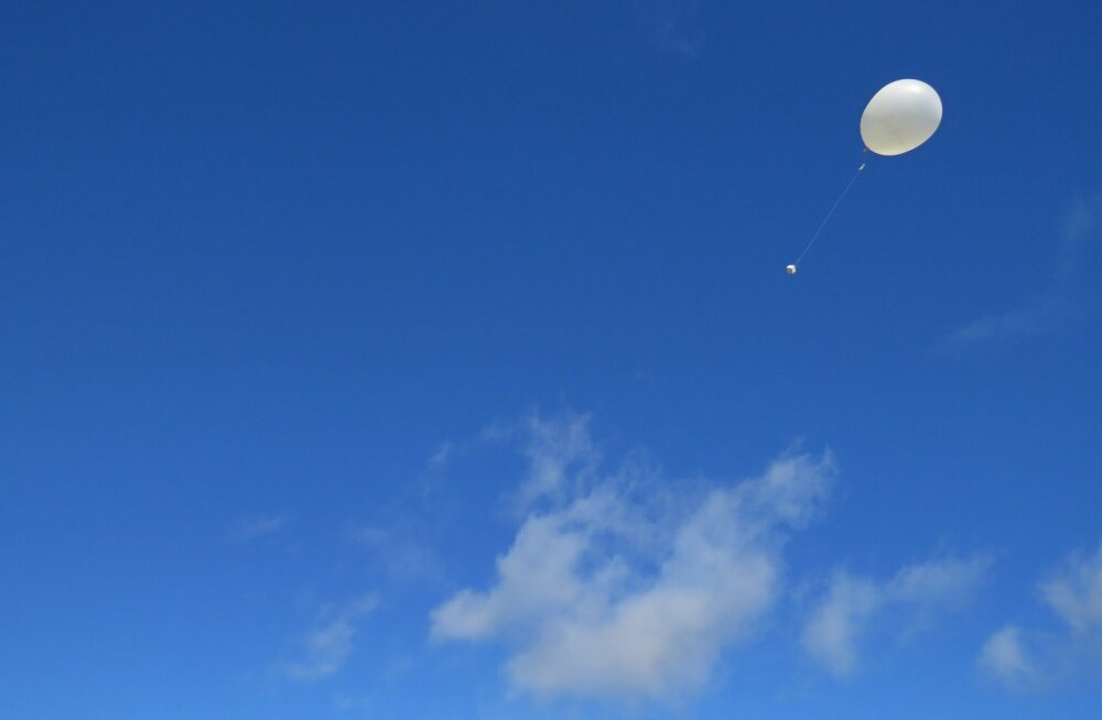 Õhupalliga lendavad raadiosondid peavad praegu ära tegema ka lennukite töö