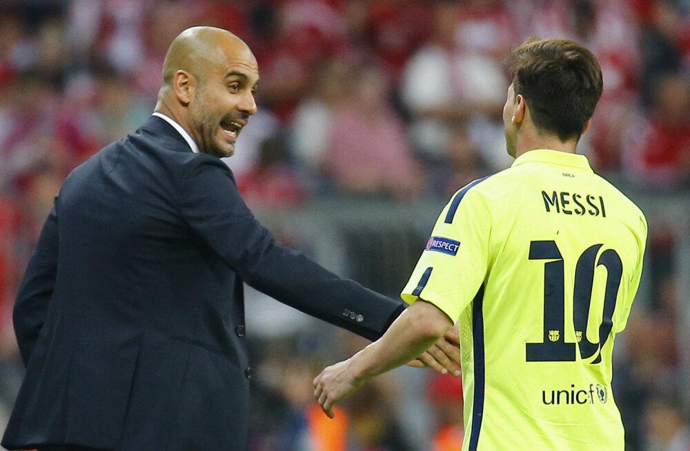 Pep Guardiola: minu soov on, et Lionel Messi jätkaks Barcelonas