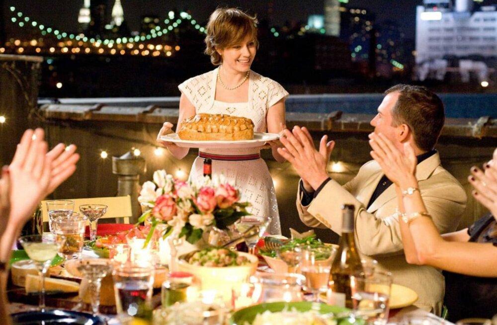 """Romantilise draama """"Julie ja Julia"""" ainetel: kui tervislikud on selles filmis valmistatud toidud?"""