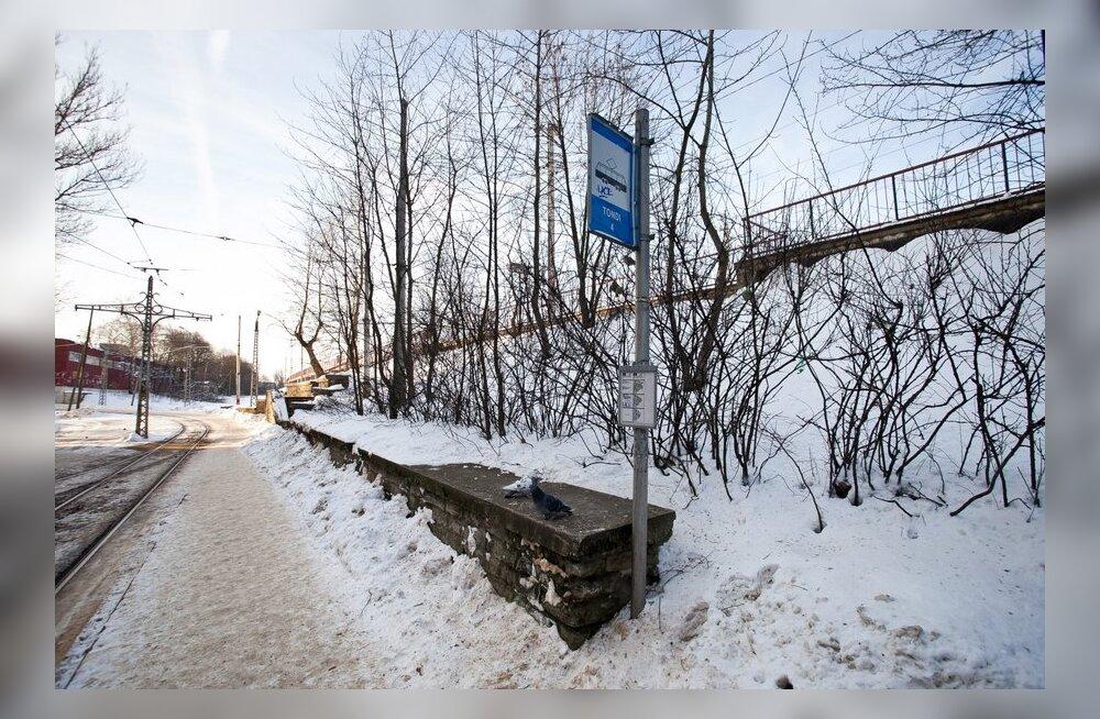 Tallinnas lõpetas 1. trammiliin kell 16 töö