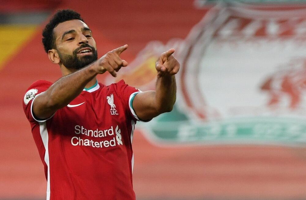 Salah lõi kolm väravat, aga Liverpool oli ikkagi suures hädas