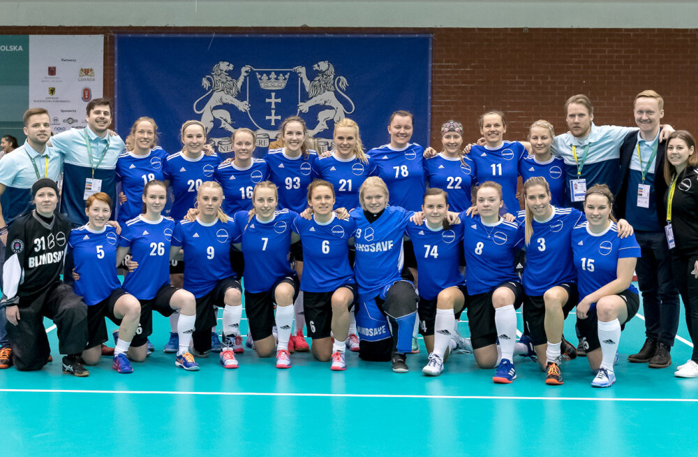 Eesti saalihokinaiskond alistas Belgia ja pääses MM-finaalturniirile