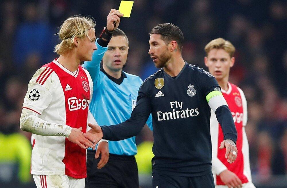 """""""Ma ei alahinnanud vastast, aga teadsin olukorda ja tegin otsuse."""" Sergio Ramos üritas küll väita, et tema käik ei olnud seotud vastase alahindamisega, kuid tegelikult oli küll. Kas ta oleks käitunud samamoodi, kui Ajaxi asemel oleks vastaseks olnud näite"""