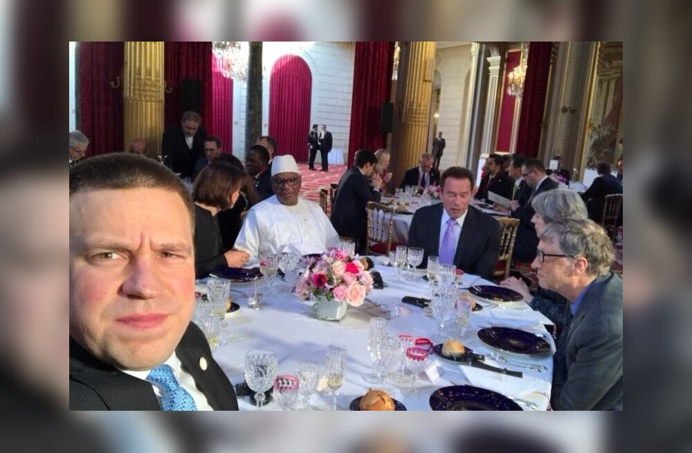 Jüri Ratas, Arnold Schwarzenegger ja Bill Gates
