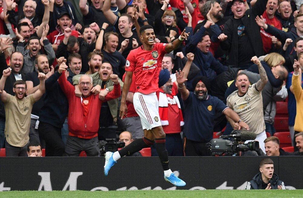Manchester United võttis Londoni Chelsea üle seljavõidu