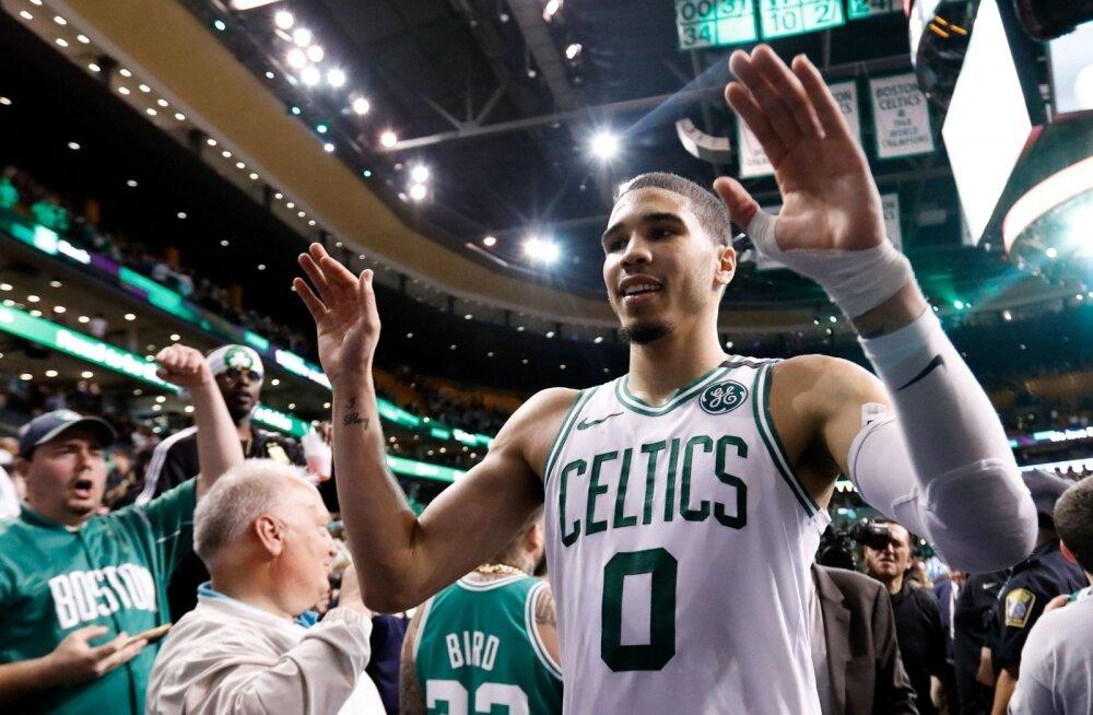 Jayson Tatum juhtis Boston Celticsi idakonverentsi finaali.