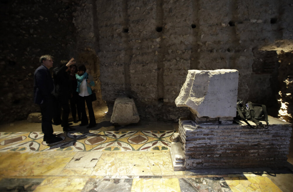 В Риме для туристов открыли первый дворец Нерона